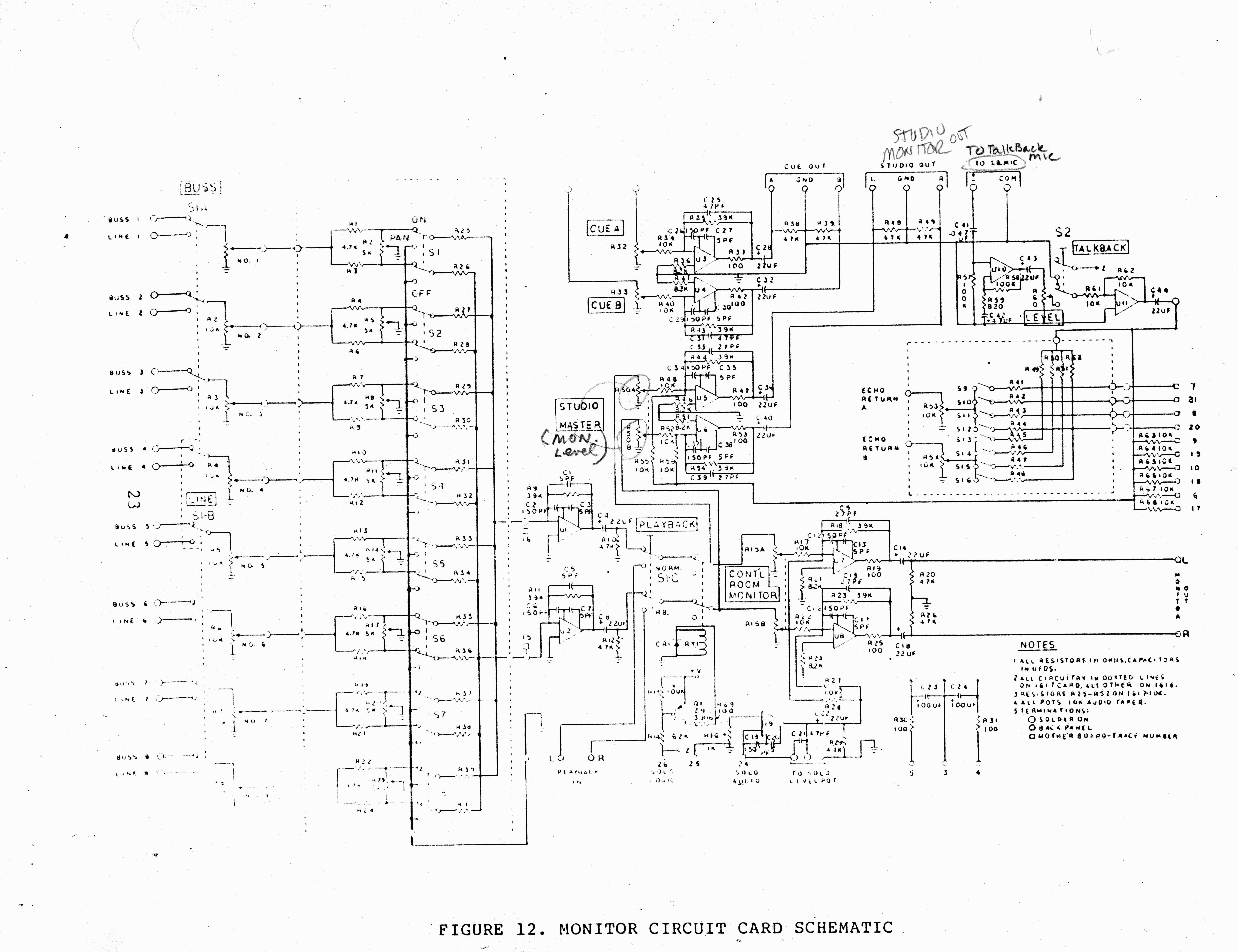 Quantum Audio Labs Gamma Console Vintage Silvertone Wiring Diagram Http Bolstadnet Qm 16820schematic20101020card 16820schematic20buss20outpu Ts